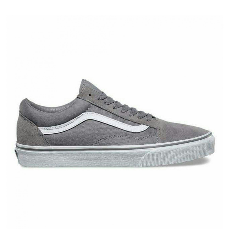 5f6d5ed4389d66 Vans Old Skool Grey  Dot Prefect ( Premium Quality)