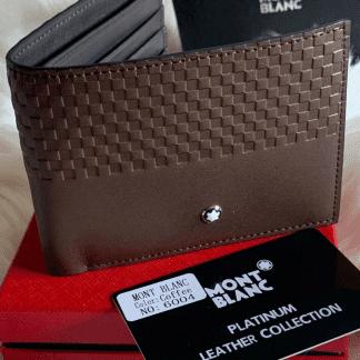 mount black wallet for men
